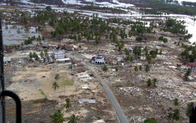 Katastrophenhilfe für Indonesien