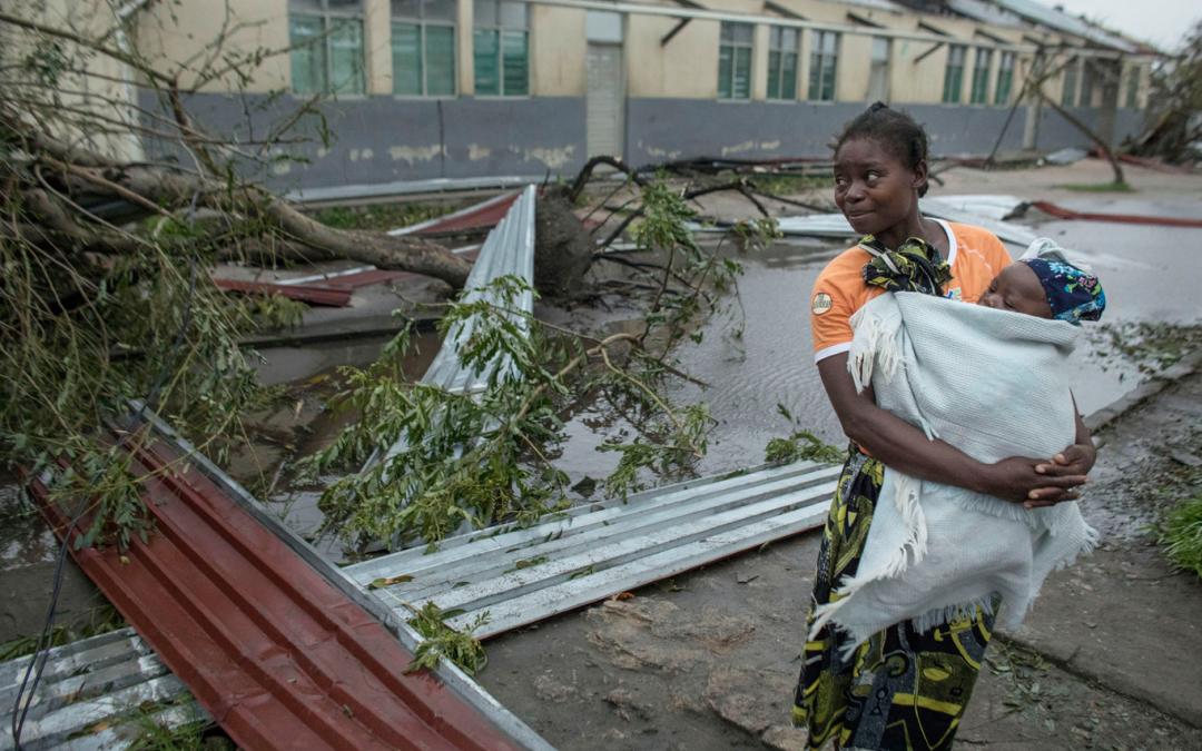 Spendenaufruf für die Opfer des Taifuns in Mosambik und Simbabwe