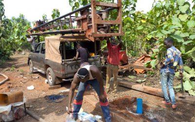 """Water 4 Aligoudu"" mit Partner ""La Casa Grande"" in Benin"