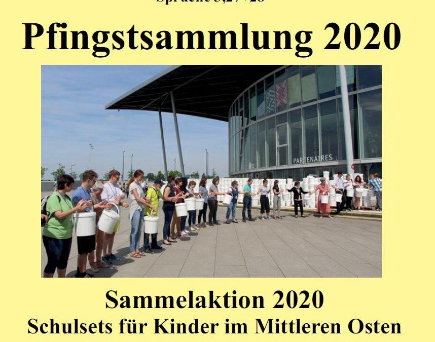 Pfingstsammlung 2020 und Nähanleitung