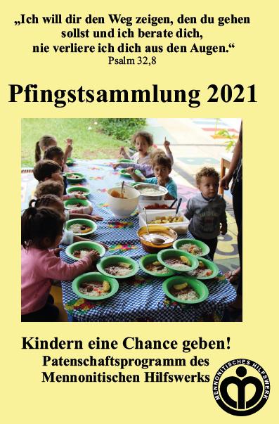 Pfingstsammlung 2021