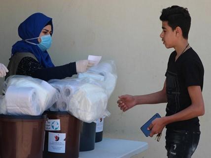 Hilfe für die Menschen im Nahen Osten
