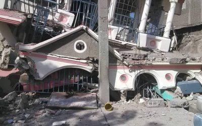 Hilfe für Erdbebenopfer in Haiti
